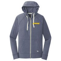 NEA122 New Era Cotton Blend Full Zip Hoodie Thumbnail