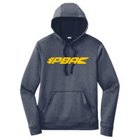 ST264 ® PosiCharge ® Sport Wick ® Heather Fleece Hooded Pullover Thumbnail